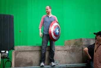 Joss Whedon shield - all that nerdy stuff