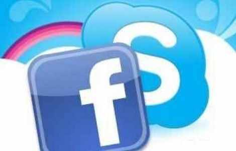 Skype meets Facebook - all that nerdy stuff