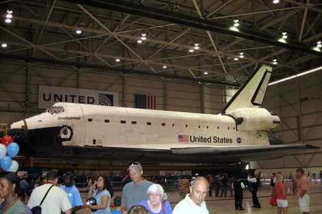 Space Shuttle Endeavour - all that nerdy stuff