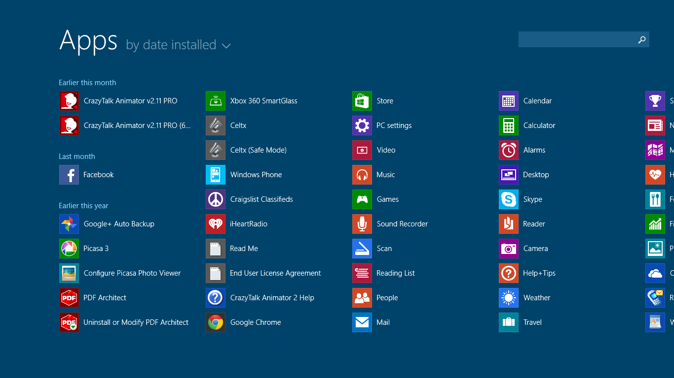 Date app for windows 8