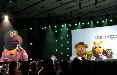 Gonzo and the Muppets at D23 - all that nerdy stuff