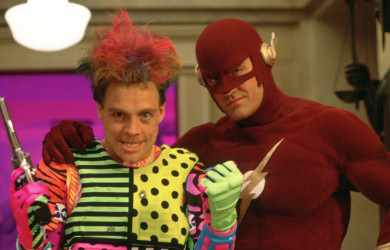 The Flash (CBS) 1990-91Shown from left: Mark Hamill, John Wesley Shipp
