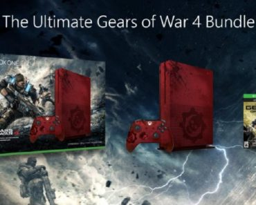 gears of war xbox one s - all that nerdy stuff