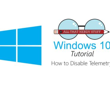 Disable Telemetry in Windows 10
